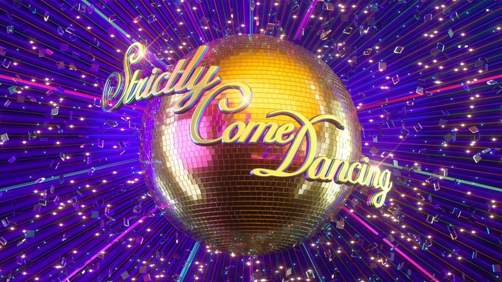 Strictly Come Dancing glitterball logo